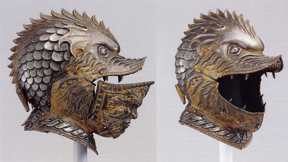 "Ещё один пример шлема, на который я опирался при создании арта ""Overlord Star Knights"""