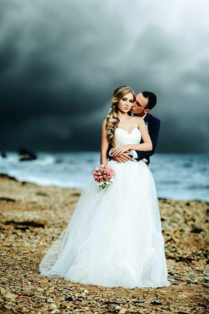 Заготовка для 3D фото - 2D фотография свадьбы