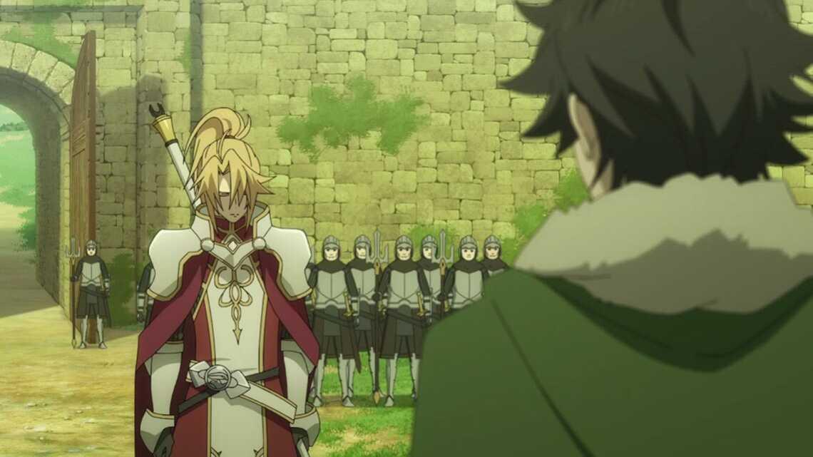 Мотоясу обвиняет Наофуми в убийстве Рэна и Ицуки