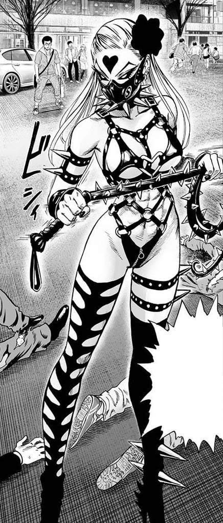 "Злодейка ""Monster Princess"" Do-S (Садо-мазо Плётка) из аниме One-Punch Man"