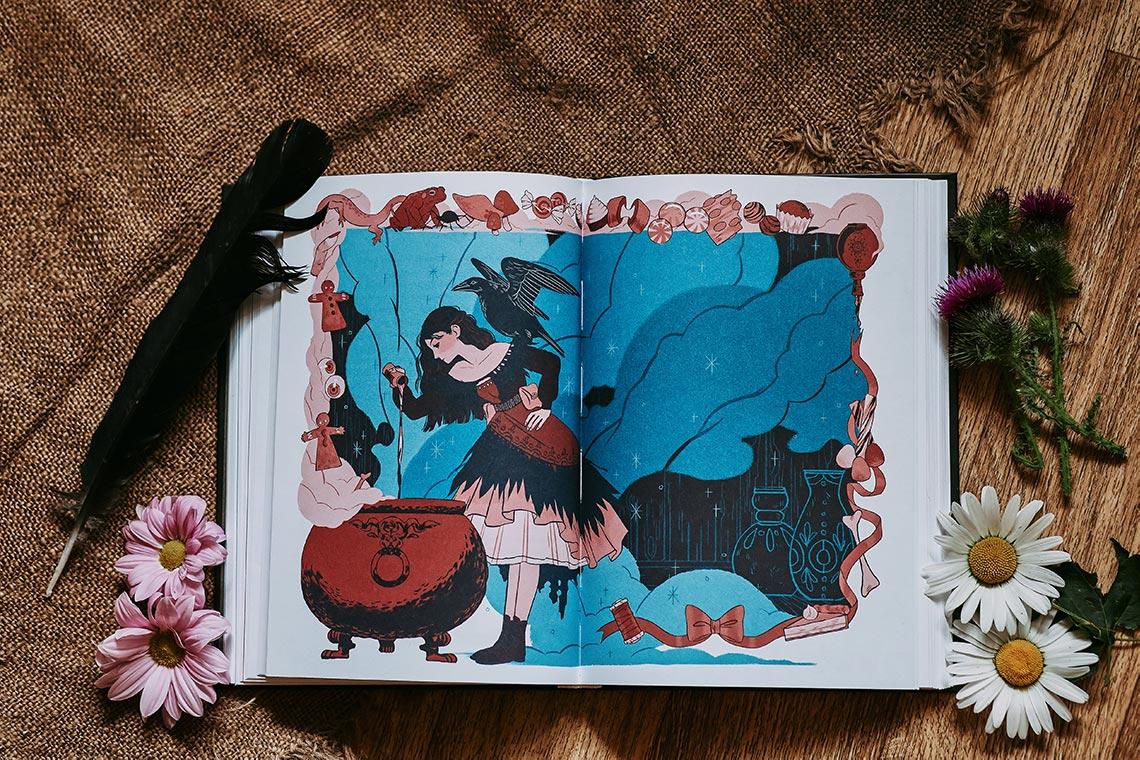 """Финальный арт сказки """"Ведьма из Дувы"""" из сборника """"Язык шипов. Полуночные сказки и тёмное волшебство"""" Ли Бардуго. Фото - Tengyart"""