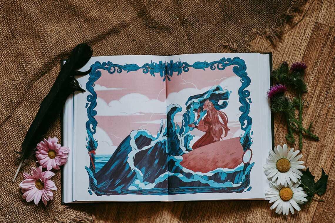 "Иллюстрация из сказки ""Ножичек"" Ли Бардуго. Фото - Tengyart"