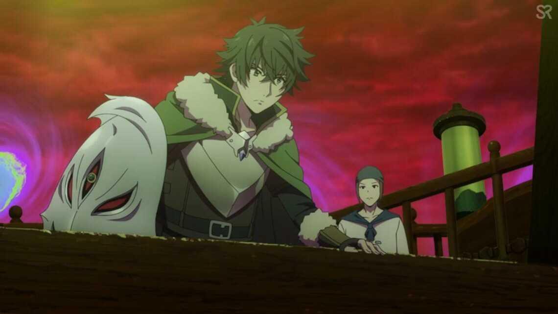 Восхождение героя щита 24 серия: Наофуми смотрит, как бочки с коголевой ягодой оглушают монстров