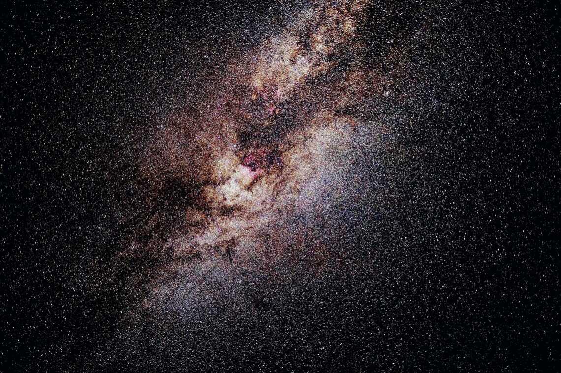 Как правильно фотографировать звёздное небо (пример снимка)