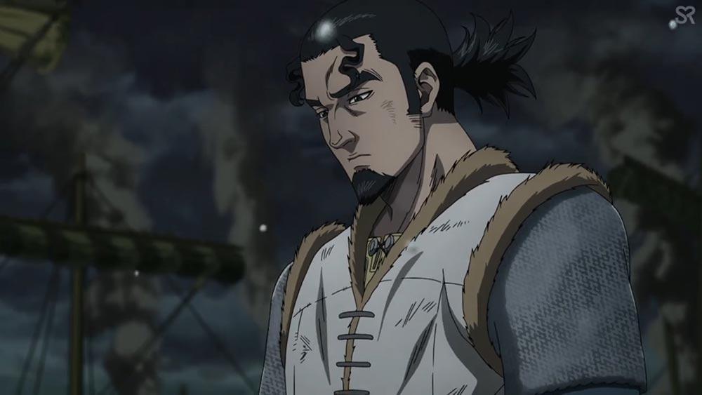 """Торс по прозвищу """"Йормский Тролль"""" - персонаж аниме Vinland Saga"""
