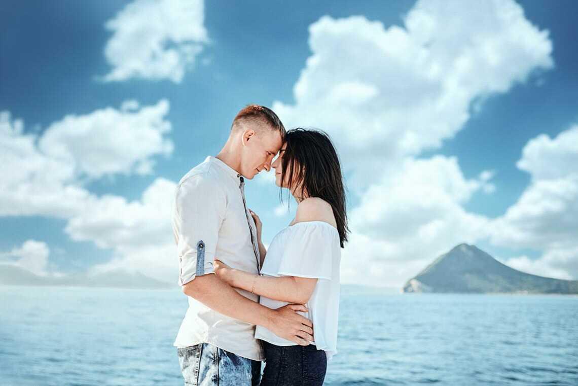 Фотосессия love-story в море около Находки