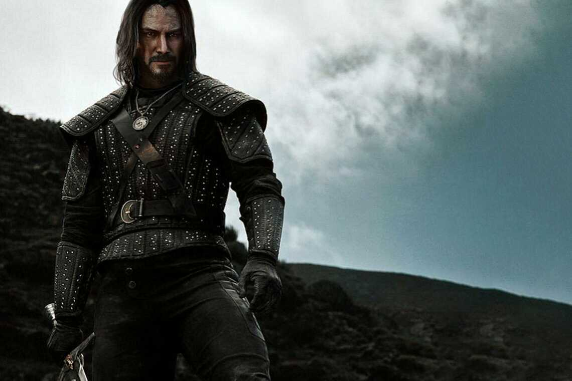 "Keanu Reeves as Geralt Of Rivia | Киану Ривз - Геральт из Ривии, сериал ""Ведьмак"", Netflix"