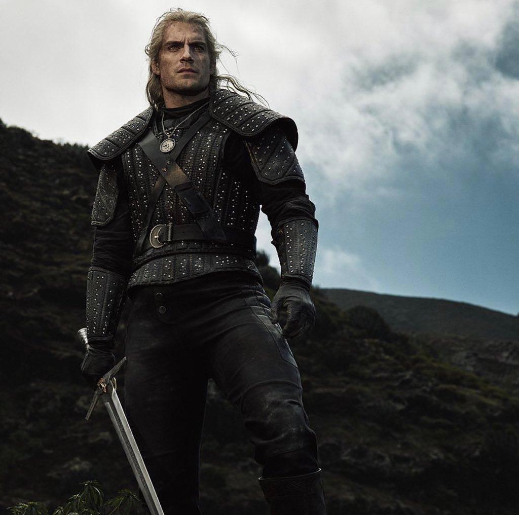 """Генри Кавилл в роли Геральта, промо сериала """"Ведьмак"""" от Netflix  Henry Cavill as Geralt Of Rivia, Netflix, """"The Witcher"""""""