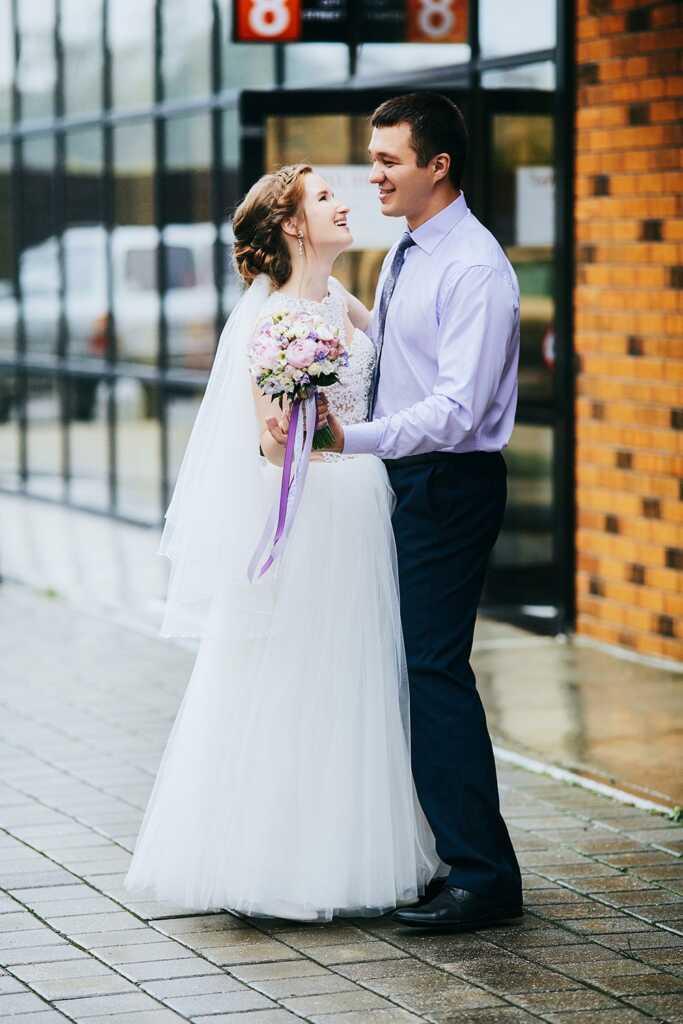 Свадьба под дождём в Находке - Владивостоке