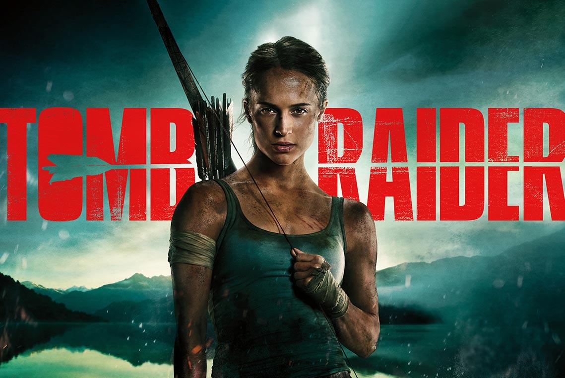 фильма Tomb Raider: Лара Крофт 2018 - постер в HD формате