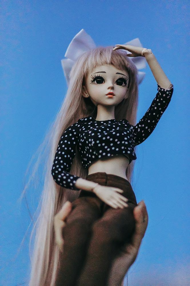 Фотография куклы на ISO 16000, Canon 5D Mark 4