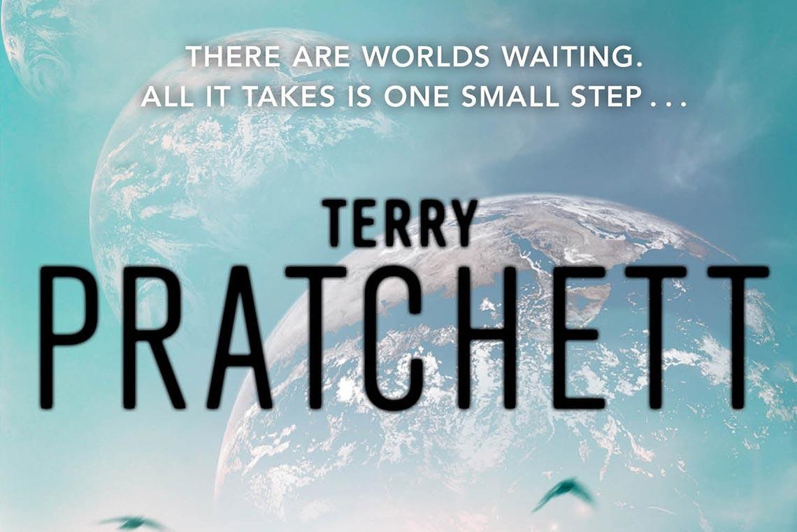 Бесконечная Земля Пратчетта и Бакстера - кусочек обложки книги