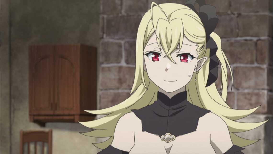 Кармилла Вайнштайн - вампир-горничная из аниме аниме Hataage Kemono Michi