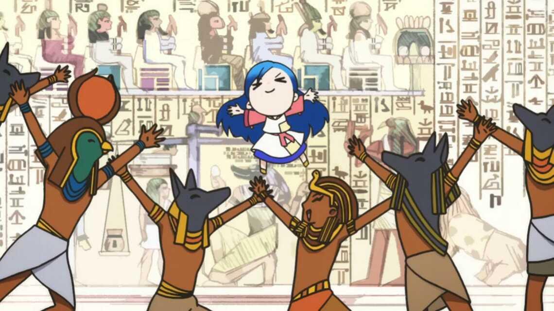 Юмористические вставки в 3 серии аниме Honzuki no Gekokujou