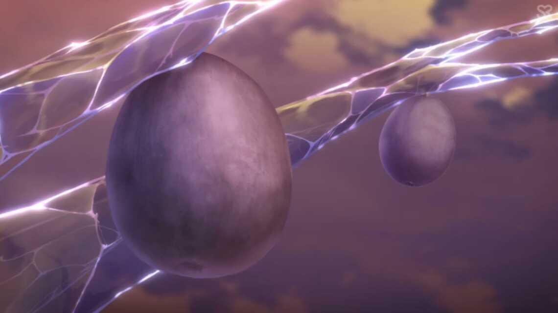 Плоды ледяного дерева Пару из 3 серии аниме Honzuki no Gekokujou