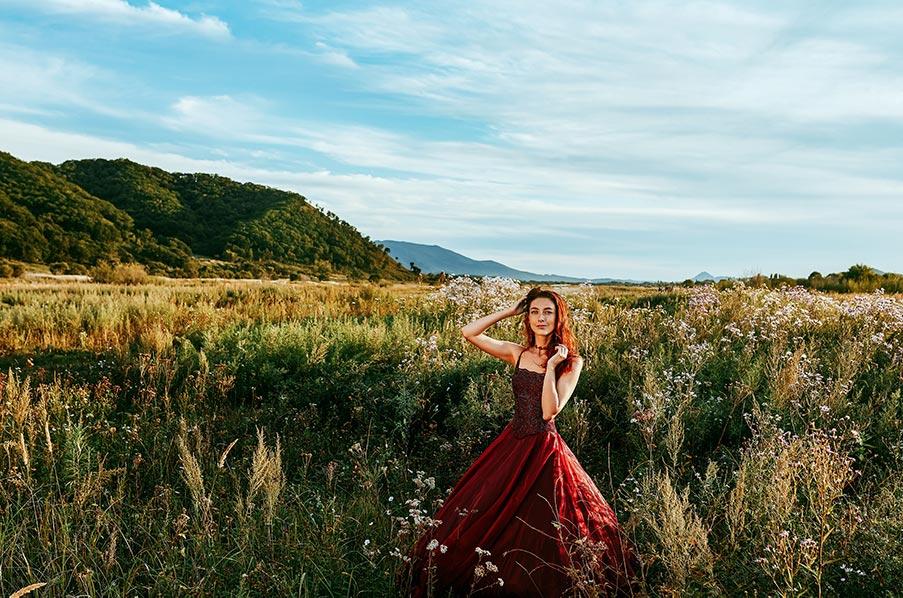 """работа под названием """"осень - любимое время для творчества"""", фотограф в Золотой Долине Олег Мороз (Tengyart)"""