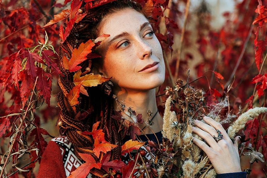 осень на улице и осень в сердце: осенняя фотосессия в Золотой Долине, фотограф Олег Мороз (Tengyart)