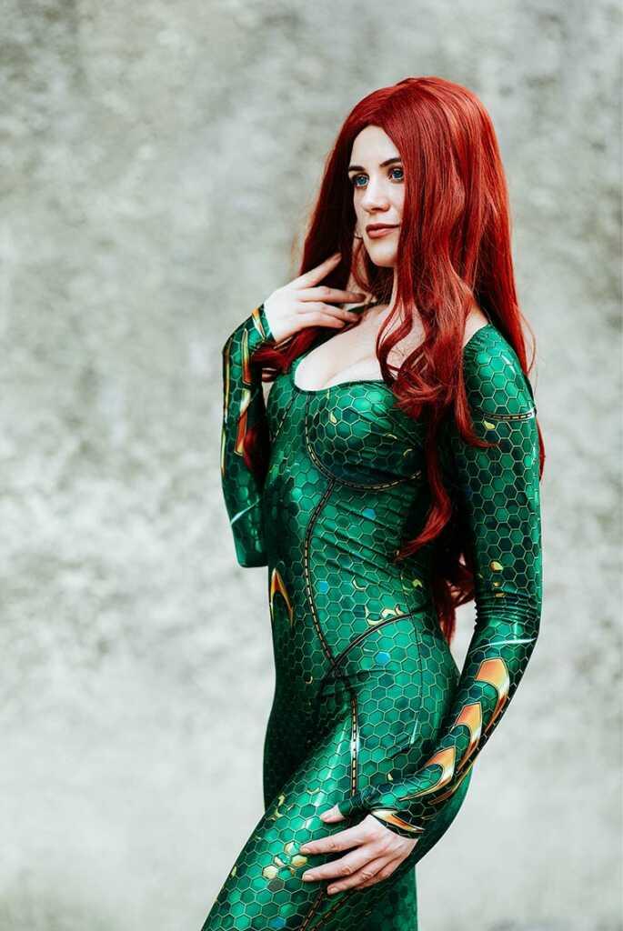 Mera cosplay from Eliada Elf (Dream Zone - 2019)