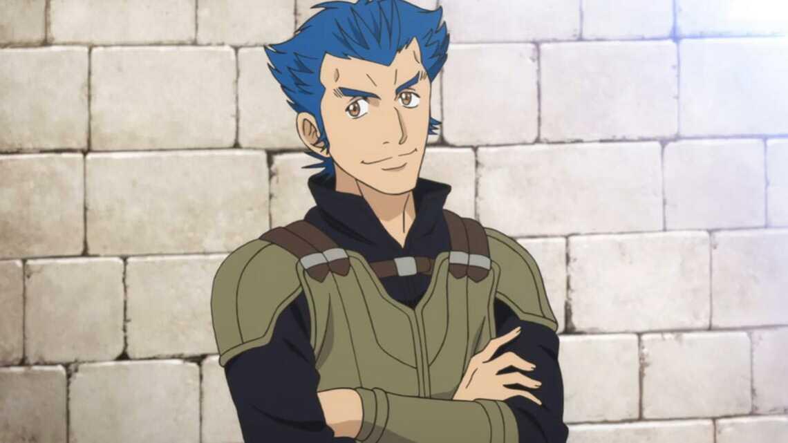 Отец Майн в аниме Honzuki no Gekokujou (Власть книжного червя)