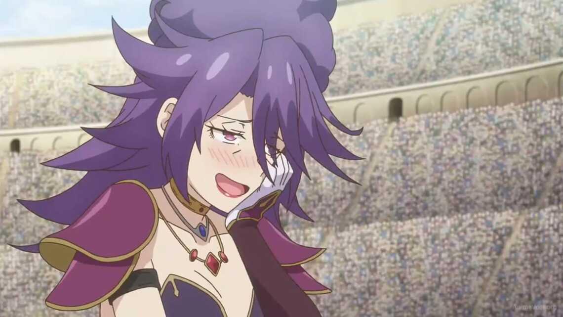 Аристократка и злодейка, противница Майл в 3 серии аниме Watashi, Nouryoku wa Heikinchi de tte Itta yo ne