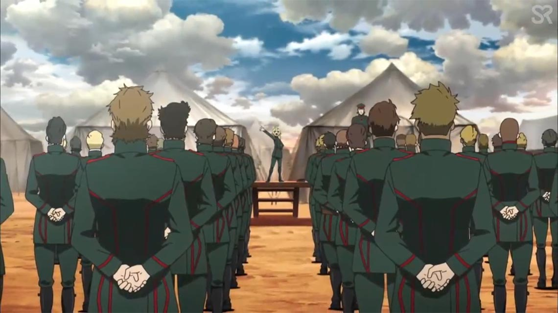 Таня Дегуршаф приказывает батальону победить всех. даже бога