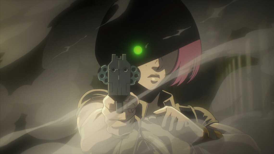 Pepper - slayer from Berühren, anime No guns life