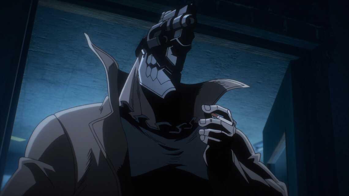 Джузо Инуи курит сигарету, 1 серия аниме Жизнь без оружия