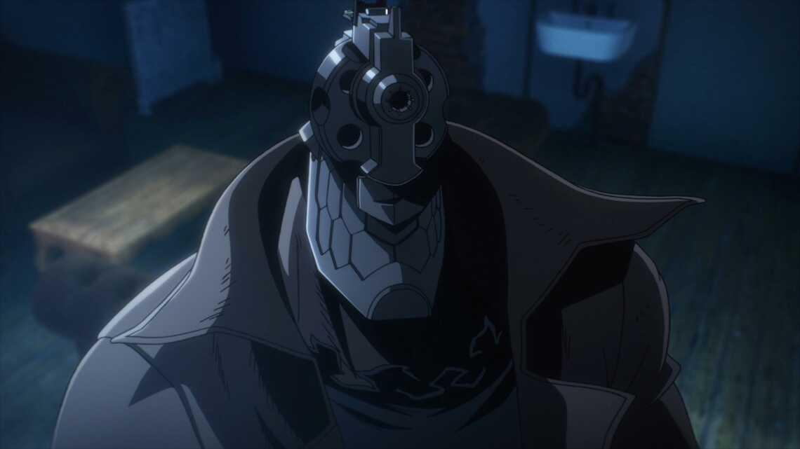 Джузо Инуи, 1 серия аниме No Guns Life (Жизнь без оружия), 2019 год