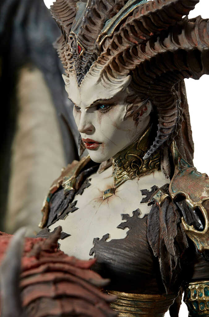 Lilith Diablo 4 Premium Statue edited by Tengyart