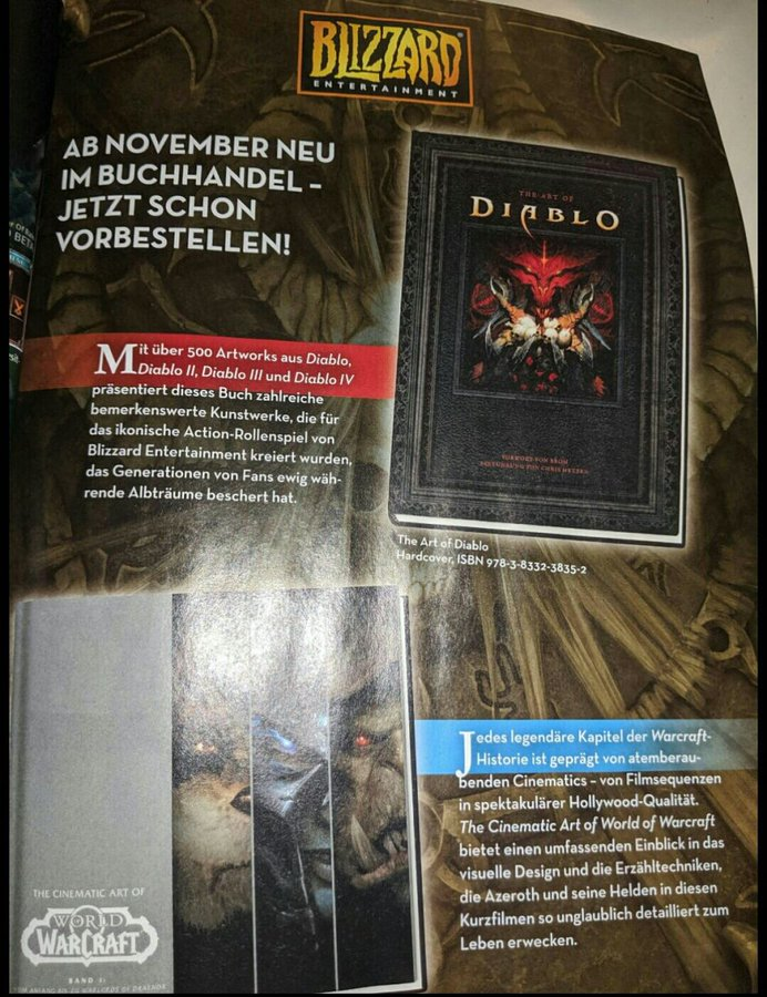 The Art of Diablo с артами по Diablo, Diablo 2, Diablo 3 и Diablo 4