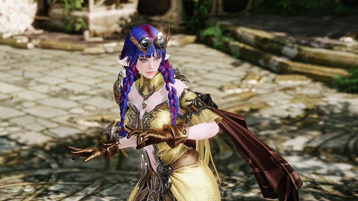 MMORPG Lost Ark: 1140pix, 4K and 8K UHD screenshots, class arkana (avtor - Tengyart)