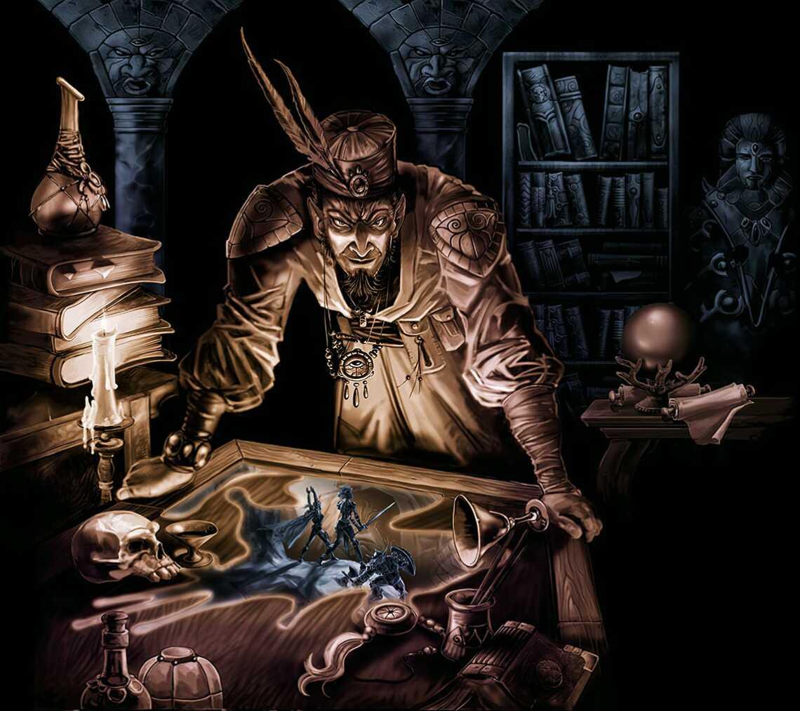 Заставка арт Neverwinter Nights в высоком разрешении 1140 пикселей и 4К