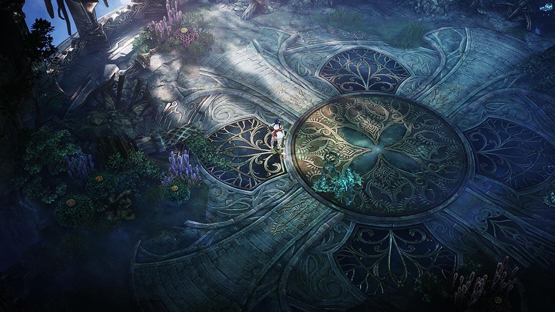 Пример локаций в игре lost ark в разхрешении 8k uhd