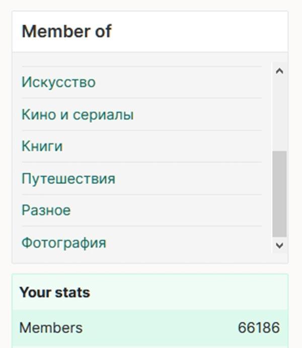 Количество подписчиков WT Social на 15 ноября 2019 года