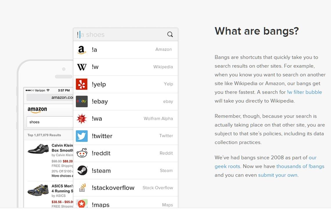 13000 модификаторов поиска (!Bangs) DuckDuckGo: примеры для поиска чего угодно в сети Интернет