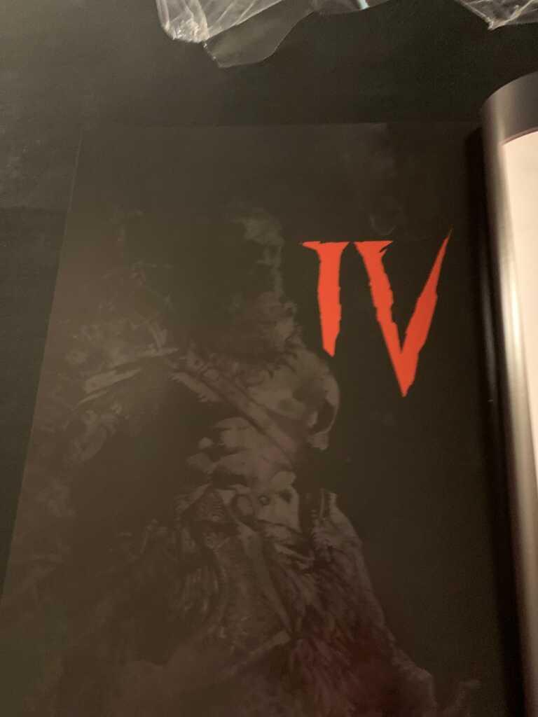 Ещё одна мрачная сцена из книги по игре Диабло 4 из книги The Art of Diablo, утечки перед близзкон 2019