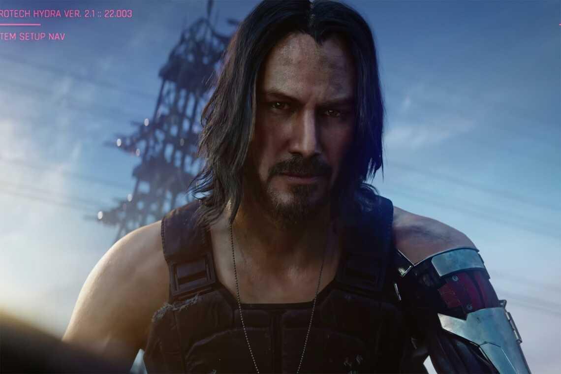 Джонни Сильверхенд Киану Ривз Cyberpunk-2077, Киану сообщает, что Сильверхенд может получить в 2 раза больше экранного времени в игре от CD Project RED