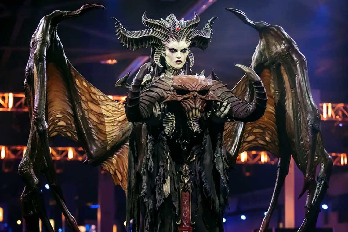 Lilit photo BlizzCon 2019, game - Diablo 4