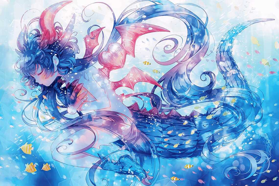"Самый красивый арт из манги ""Монстрик Карамелька"" (Otome Kaiju: Carameliser,  Monster Girl Carameliser)"