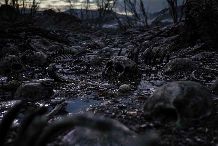 Трейлер Hellblade 2 с черепами и группой Heilung - In Maidjan