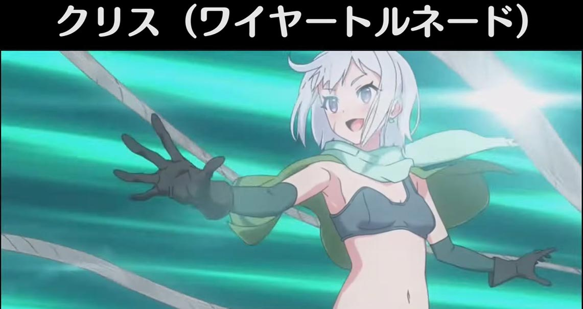 KonoSuba - пример использования способностей в фэнтези игре