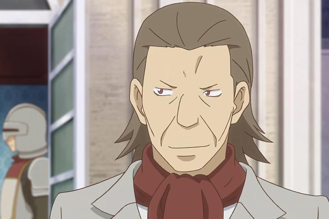 """Лорд Бордман из аниме """"разве я не просила усреднить мои способности?"""""""