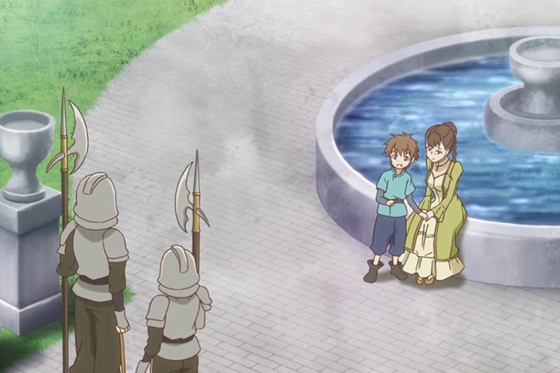 """Мать и младший брат Полины из аниме """"Разве я не просила усреднить мои способности в следующей жизни?"""""""