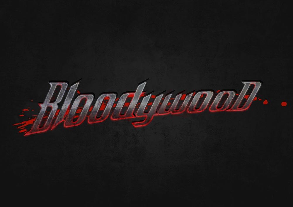 Логотип группы Bloodywood (индийской метал группы)