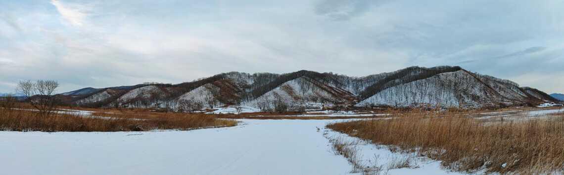 Пейзаж Золотой Долины, Приморский край
