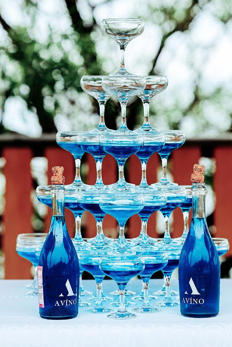 Свадебный снимок с вином густо-синего сочного цвета. Бесплатный стоковый снимок со свободной лицензией от Tengyart