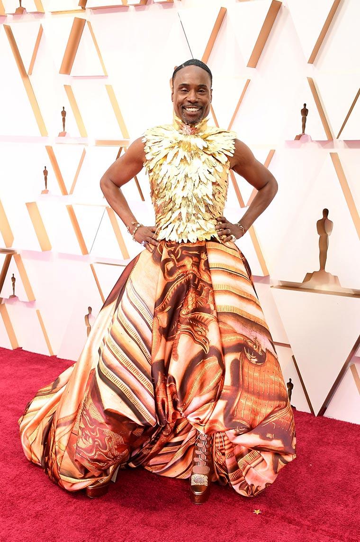 Билли Портер (Billy Porter) фото Оскар 2020