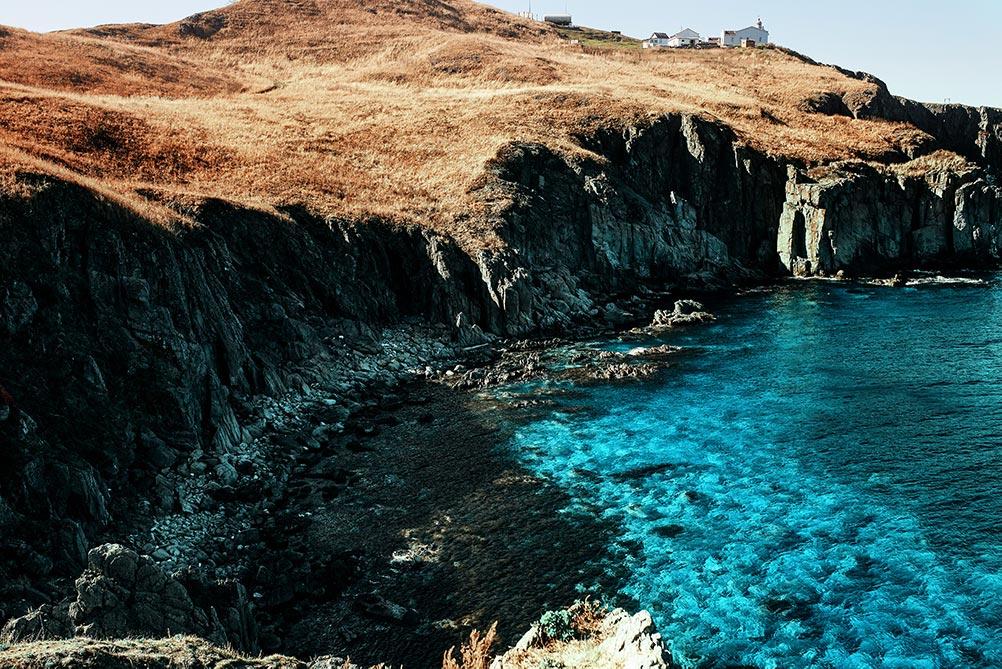 Фото моря и скал фон для рабочего стола 1000px