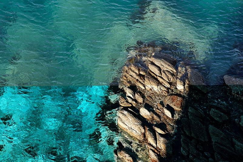 Фотографии моря до и после обработки в Adobe Photoshop, автор - Мороз Олег (Tengyart)