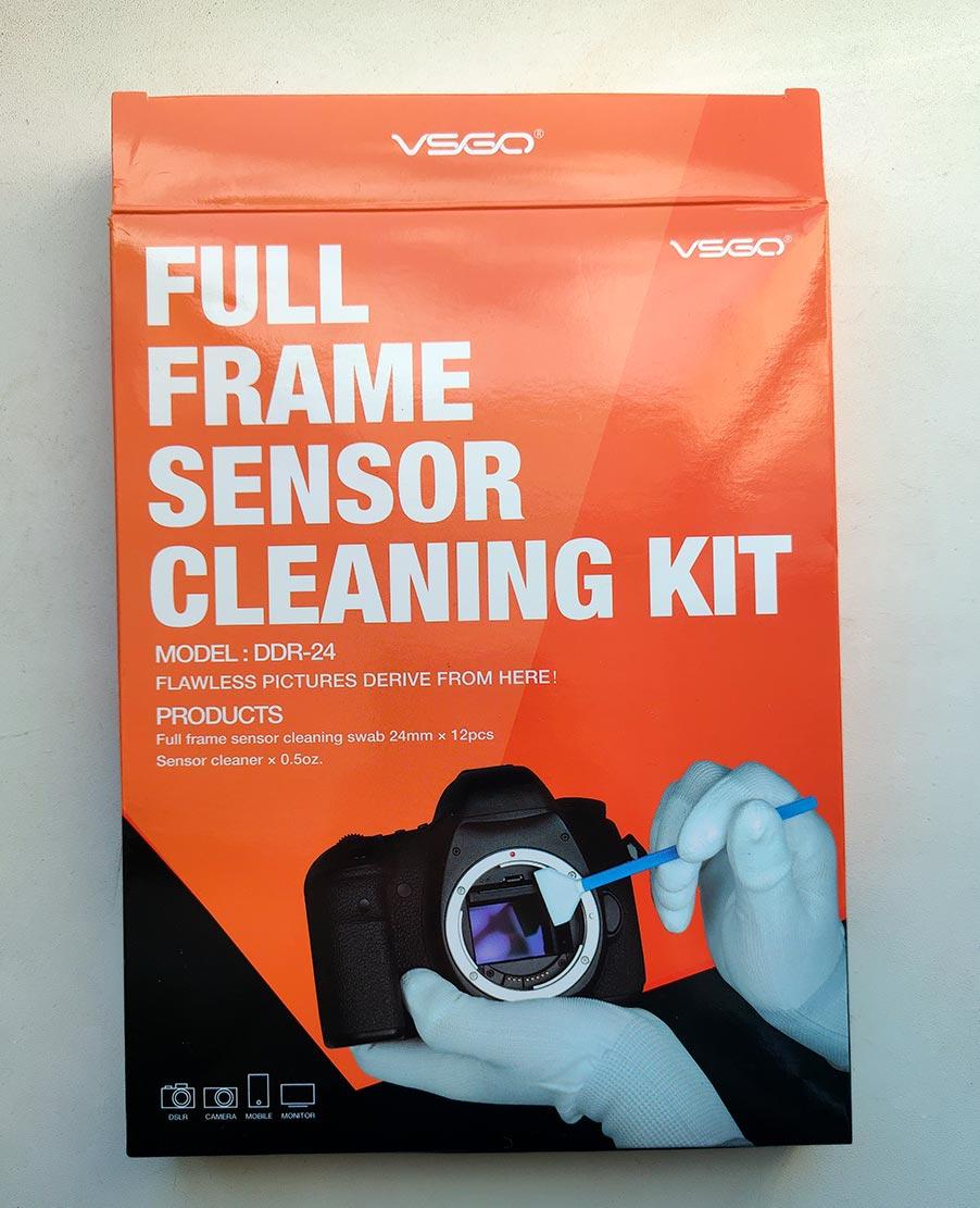 full frame sensor cleaning kit - образец набора для чистки матриц фотоаппарата